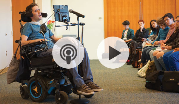 Listen to or watch Ady Barkan's talk