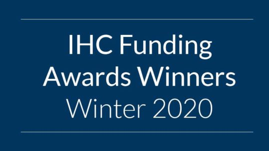 Funding Awards Winners Winter 2020
