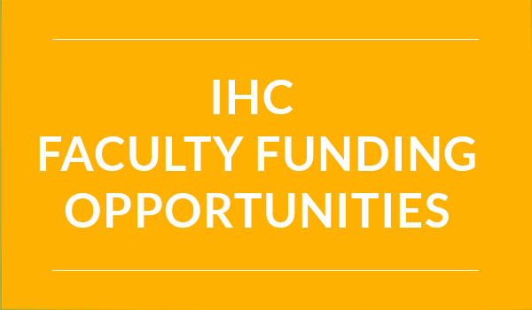 Faculty Funding Opportunities